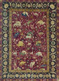 Introduction to the court carpets of the Ottoman Safavid and