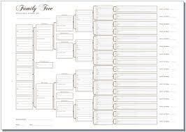 15 Generation Genealogy Chart 5 Generation Pedigree Chart Template Expert Fillable