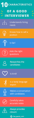 Questions To Ask Interviewer Interviewer Hacks Top 10 Characteristics Of A Good