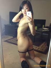 Super Skinny Brunette Babe Strips Dress and Poses Hot Naked Body.