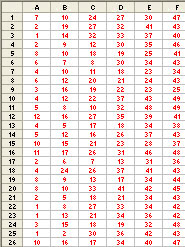 Rajshree Result Chart Analyze Lottery Numbers In Excel Techtv Articles Mrexcel