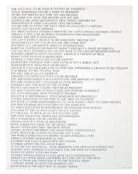 best inflammatory essays by jenny holzer images  list of truisms for essays for list essays of truisms my english lit told us today that we need to have our introduction first paragraph completed for