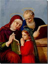 Znalezione obrazy dla zapytania św. Anna i Joachim