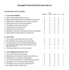 Customer Satisfaction Survey Template Excel Customer Satisfaction Survey Sample Questionnaire Doc