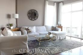 Purple And Gray Living Room The Creative Imperative House Tour Purple And Gray Living Room