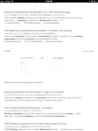 Reading Comprehension Printable Worksheets Grade 3 Free Reading ...