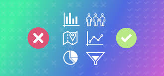 Common Chart Types Dos And Donts Data Visualization Tips Before And After