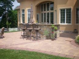 backyard brick paver patio