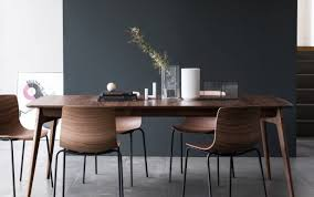 chairs trestle room carob modern round dining wood solid tables home extending imagio table sets anderson