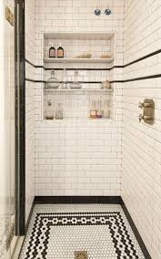 A House with a Cool Design White subway tiles Subway tiles and Black