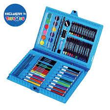 coloring set. Plain Set Universe Of Imagination 68pcs Coloring Set Inside S