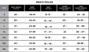 Unionbay Size Chart 11 Explanatory Usa Pro Size Chart