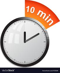 a 10 minute timer timer 10 minutes royalty free vector image vectorstock