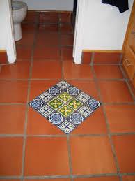 bathroom diamond in talavera tile