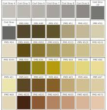 Color Chart Johnin International Industrial Ltd