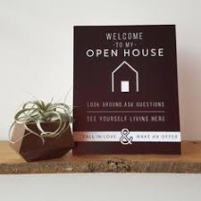 Small Picture FREE DOWNLOAD Welcome Signs for Open Houses Showings Real