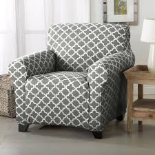 home fashion designs brenna collection trellis print stretch form ed chair slipcover free on orders over 45 21177493