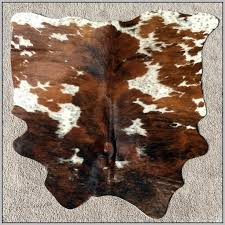 small faux cowhide rug rugs home decorating ideas hash