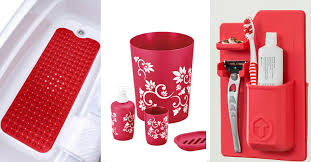 red glass bathroom accessories. Full Size Of Bathroom Color:red Accessories Next Must Have Red To Glass E