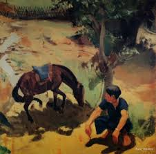 oil painting by vietnamese artist luu van sin