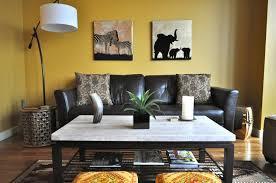 Nice Safari African Themed Lounge Jungle Living Room