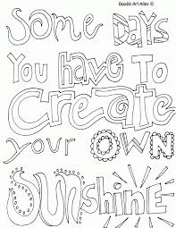 Sayings Coloring Pages Many Interesting Cliparts