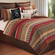 cabin retreat quilt king
