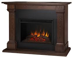 real flame callaway grand electric fireplace in chestnut oak traditional indoor fireplaces by homesquare