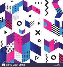 Material Design Stock Images Funky Seamless Abstract Geomertic Pattern Modern Material