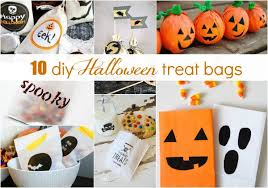 homemade halloween candy bags. Wonderful Bags 10halloweentreatbagideas Intended Homemade Halloween Candy Bags C