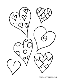 These valentines day coloring pages printable are ideal for kids of all ages. Coloring Pages Hearts Coloring Home