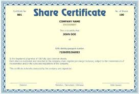 Template Share Certificate Free Company Share Certificate Template Limited Rightarrow