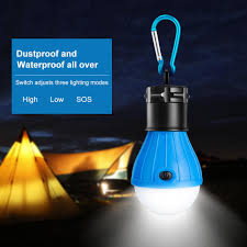 Portable Handy Led Bulb Light 3 Modes Tent Lamp Outdoor Soft