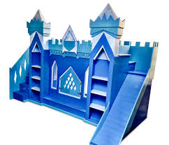 Build A Princess Bed The Original Frozen Inspired Elsa Ice Castle Bunk Bed This