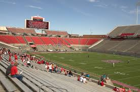 Carter Finley Stadium Seating Chart Rows Carter Finley Stadium Section 18 Rateyourseats Com
