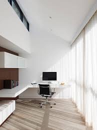 nice office design. 90+ Cool Office Setups Inspirations : White Minimalist Home Design  With Floating Desk Imac Nice Office Design
