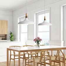 kitchen pendant light white pendant