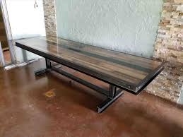 industrial pipe furniture. Design Luauberge Duypreville Future Industrial Pipe Conference Table Dining Room Rhpinterestcom Custom Furniture