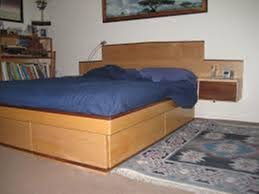 Platform Bed with Drawers and Headboard Southbaynorton Interior Home