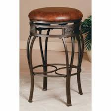 hillsdale bar stools. Hillsdale Montello 26-in. Backless Swivel Counter Stool - Old Steel Bar Stools Z