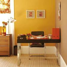 Orange home office Whole Family Lushome 30 Office Design Ideas Bringing Optimism With Orange Color