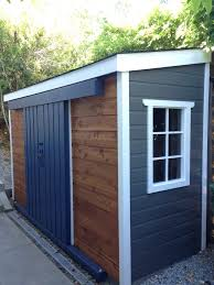 Door Storage: Reclaimed Tool Shed Made From Old Fence Boards And ...