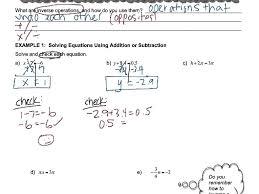 algebra 1 1 solving simple equations