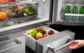 kitchenaid five door french door refrigerator feature