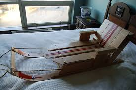picture of convertible oak child sled simple design basic tools