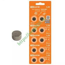 Купить <b>Батарейка AG3</b>/LR41 Alkaline 1,5V (упаковка 10шт) TDM ...