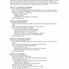 example examples of good conclusions for expository essays resume   examples of expository essay expository essay outline example expository checklist x
