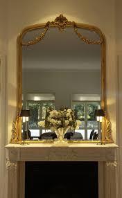 custom made gilded gold leaf mirrors