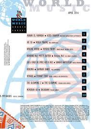 April World Music Charts Europes N 1