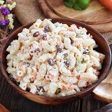 easy en macaroni salad foxy folksy